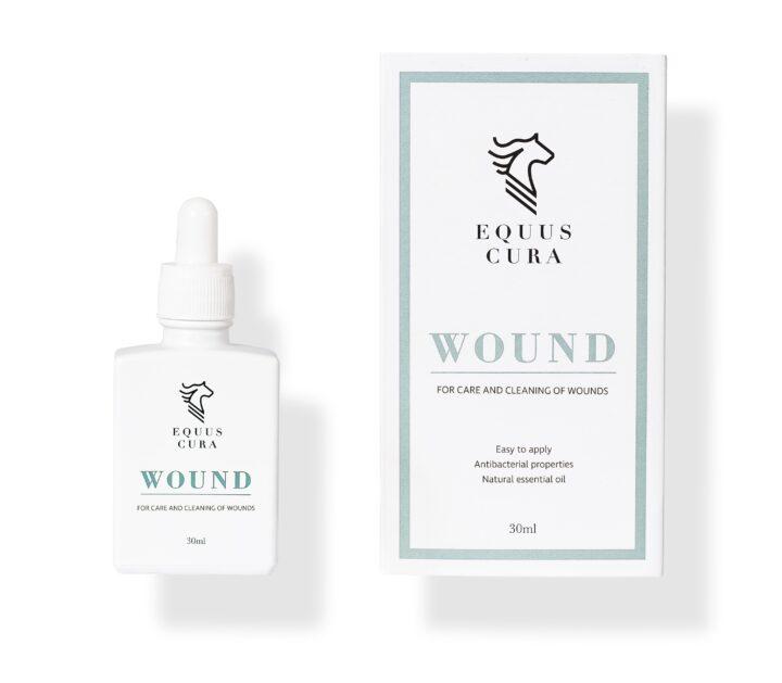 WOUND sår pleje til heste