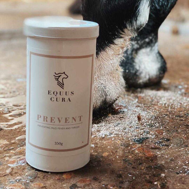 prevent til muk og sur stråle hest
